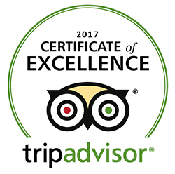 tripadvisor 2017 certificate